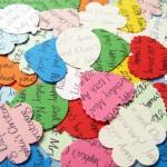 Coloured Confetti Shapes