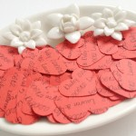 Red Mix Confetti Shapes
