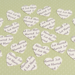Cream Personalised Hearts