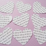 2 inch Personalised Hearts