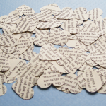 Heart Novel Confetti
