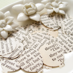 Pride and Prejudice Novel Balloon Confetti